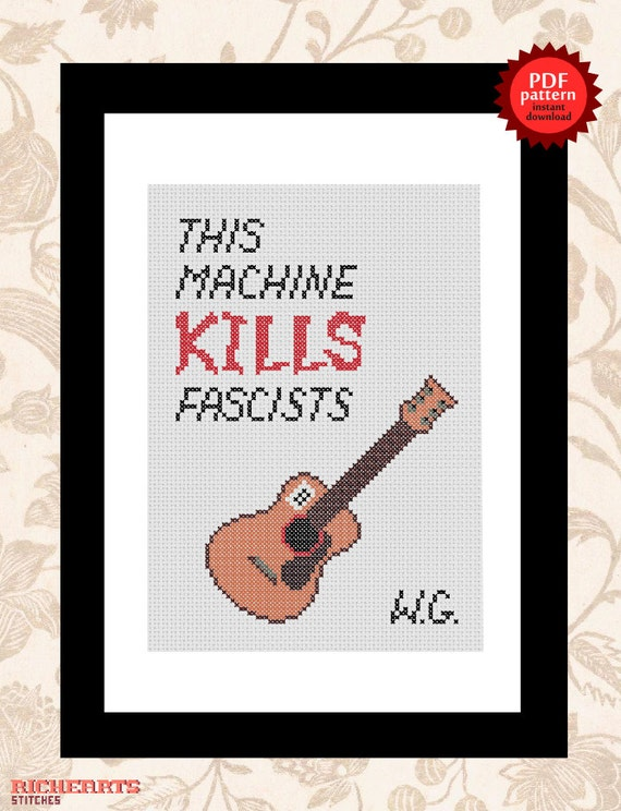 this machine kills fascists guitar