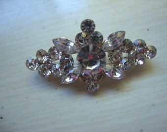 Austrian Crystals Rhinestone Jewelry Piece Applique Metal Jewelry Supplies Rhinestone Pendant OC