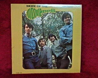 The MONKEES - More of the Monkees - 1967 Vintage Vinyl Record Album