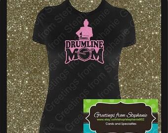 Drumline Mom Regular Vinyl T-shirt
