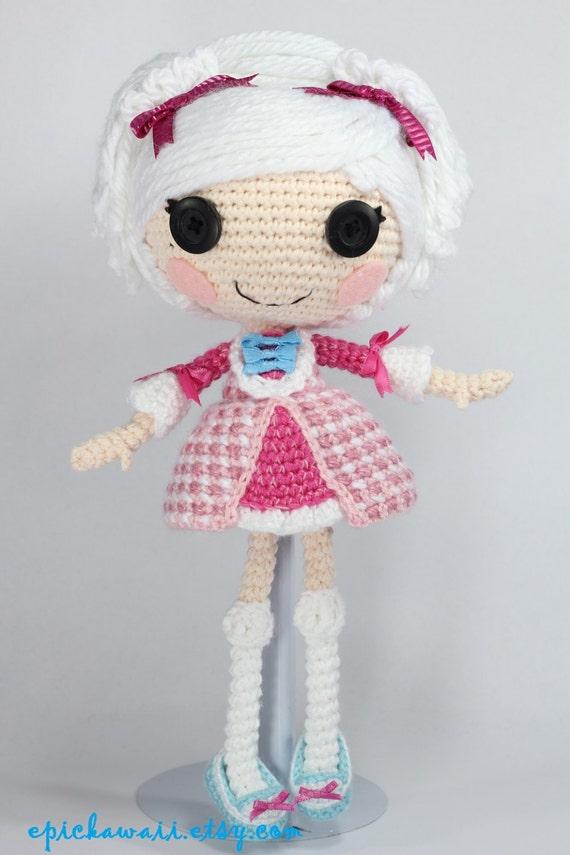 СХЕМА: Suzette крючком Amigurumi Кукла