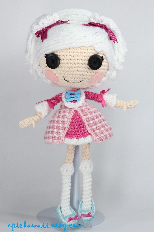PATTERN: Suzette Crochet Amigurumi Doll by epickawaii on Etsy
