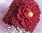 Baby Girl Crochet Hat, Crochet Hat, Baby Hat, Newborn Crochet Hat, Newborn Hat, Girls Hat, Girls Crochet Hat, 0-3, 3-6, 6-12 Months
