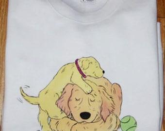 Golden Retriever  Patience T shirt