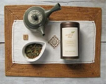 Organic Genmaicha Green Tea • 4 oz. Tin • Japanese Bancha with Roasted Rice Loose Leaf Tea Blend