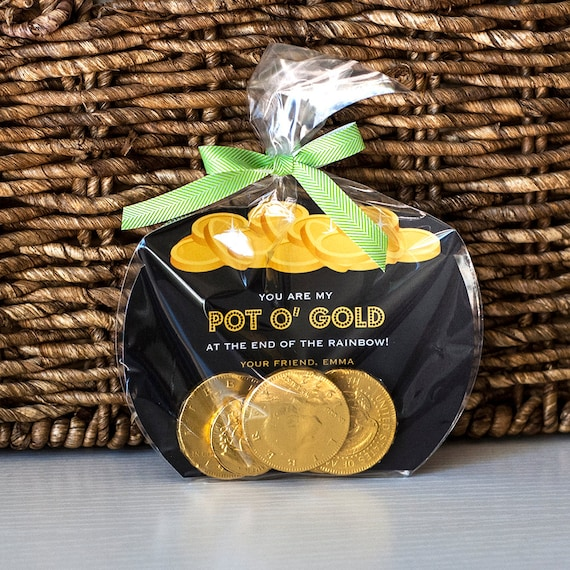St. Patrick's day Pot of Gold Treat Bag