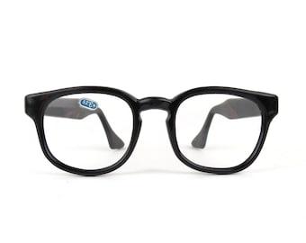 Hipster Black Frame Reading Glasses : Popular items for horn rims on Etsy