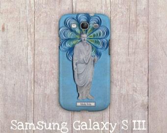 Nikola Tesla Samsung Galaxy hard case, Science Samsung Galaxy cover, samsung galaxy s3 cover, Samsung Galaxy S4, Geek phone case