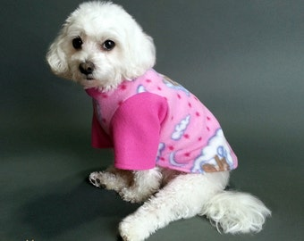 Dog Pyjamas, Pink Sleepy Teddy Bears Design, 2 Leg and 4 Leg Styles