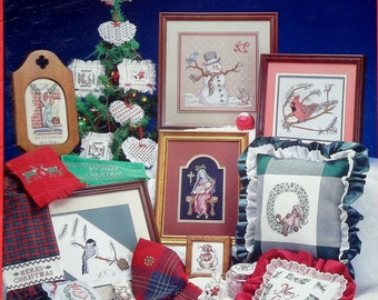 Cross My Heart CHRISTMAS (Multiple Designs)  - Counted Cross Stitch Pattern Chart Booklet