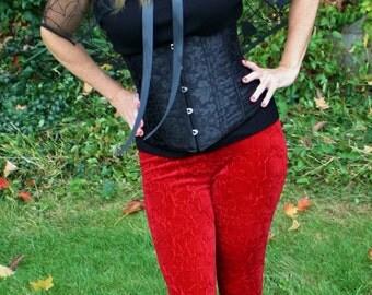 Ladies Lava Velvet Leggings - choose your size