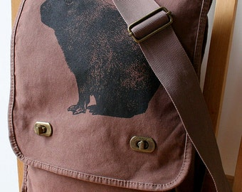 Capybara Messenger Bag