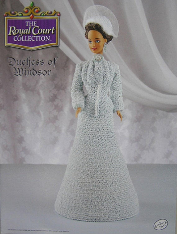 Annies Attic Crochet Bed Doll Pattern Duchess of Windsor Royal Court ...