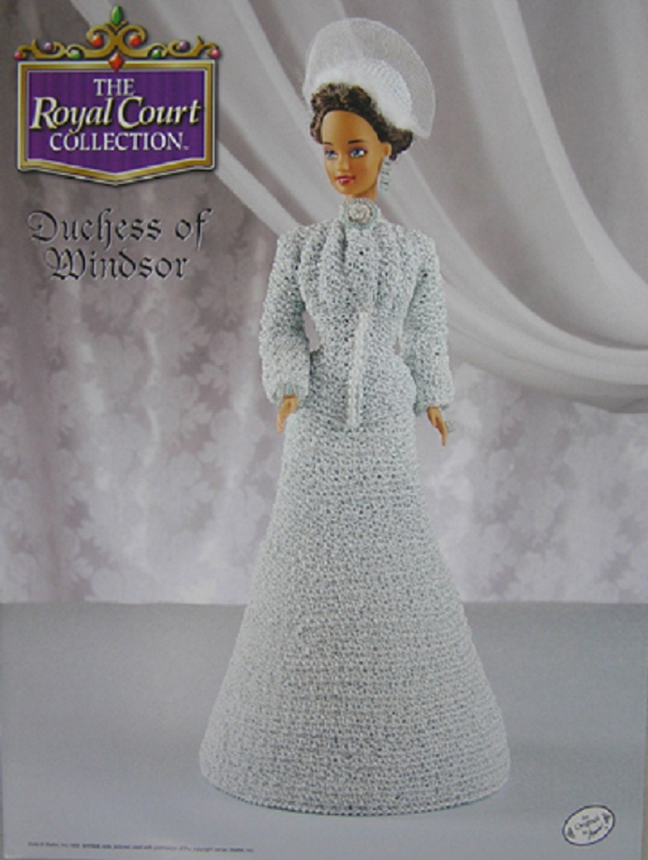 Annie S Attic Crochet Bed Doll Pattern Duchess Of Windsor