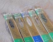 Assorted Vintage Zippers in Original Packaging