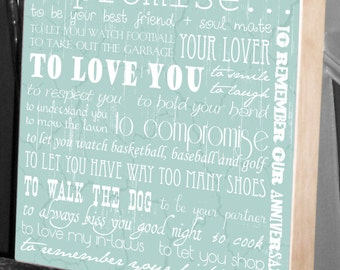 Wedding Sign, Wedding Artwork, Gifts for the Bride, Gifts for the Groom, Anniversary Gift, Birthday Gifts for Him, Birthday Gifts for Her