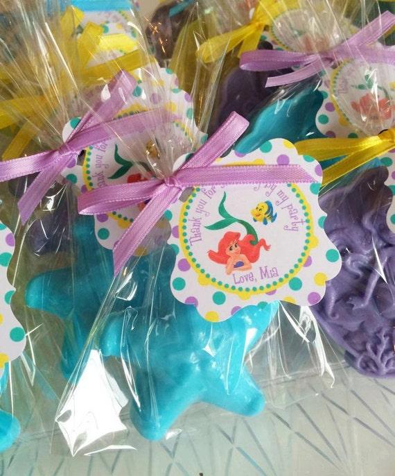 Wedding Favor Ideas Mermaid: Items Similar To 10 MERMAID And SHELL SOAPS {Fabors ...