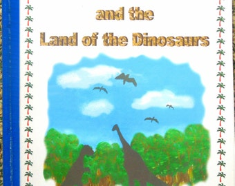 "Personalized / Photo Dinosaur Storybook  .....""The Land of the Dinosaurs"""