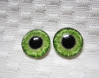 14mm glass eyes for crafts