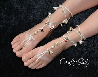 Barefoot Sea Side Shell Sandals
