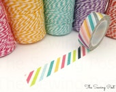 Washi Tape: Carnival Stripes