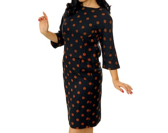 Vintage 1950s Dress /  50s Wiggle Dress / Vintage 50s Wiggle Dress / 50s Dress