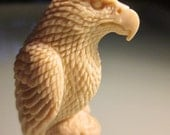 eagle,Hand carved American Bald  amazing detail 1930 vintage purchased in june on my alaska trip