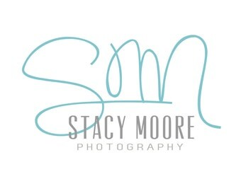 Photography Logo and Watermark, Teal Blue Handwritten Initials, Sans Serif Grey Body Font, Brother Wilson Graphic Design