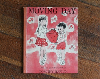 Vintage Children's Book - Moving Day by Dorothy Marino (1963)