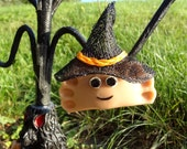 Halloween Witch Pierogie Ornament Custom Made