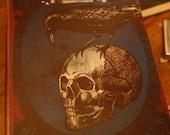 Hidden Compartment Book Edgar Allan Poe Gothic Nevermore Halloween Decor Curiousity Storage