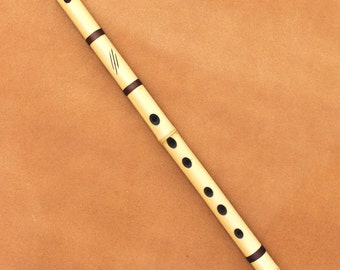 Bamboo Flute - Minor Scale - Finely Tuned