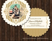 INSTANT Download PSD 5x5 Luxe Multi-Use Announcement / Card Template - M2