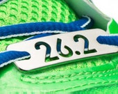 26.2 or 13.1- Running Shoe Tag - Marathon or Half-Marathon