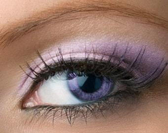 "Light Purple Shimmer Eyeshadow - ""Leska"" - lilac lavender - Mineral Eyeshadow Net Wt 2g Mineral Makeup Eye Color Pigment"