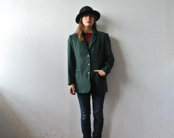 90s cashmere blazer // WANDERLUST