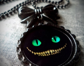 Chesire Grin necklace