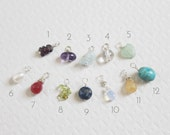 Gemstone Birthstone ADD-ON