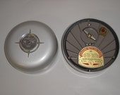 Set of 2 - Vanguard Vintage Fire Alarms - Model V2-25 - Wind-Up with Fuses -Industrial Decor  (2-A)