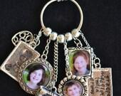 Personalized, Photo Jewelry, Custom Photo Charm Necklace Pendants, Mini Photo Frames, Wedding Bouquet Charm, Loss of Child or Pet, Valentine