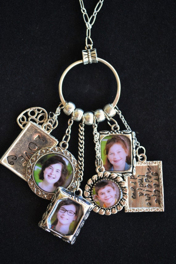 personalized photo jewelry custom photo charm necklace