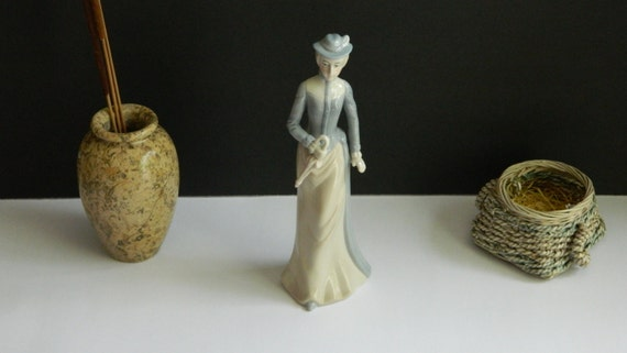 Vintage porcelain figurine 1970s lladro style home - Consider including lladro porcelain figurines home decoration ...