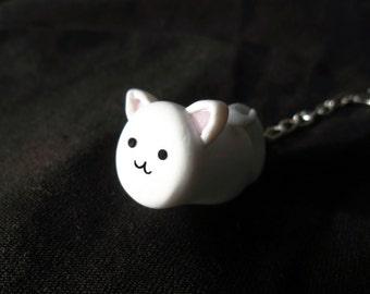 Cat-Mallow Keychain