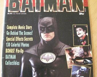 Batman: official movie souvenir magazine #1 (1989)