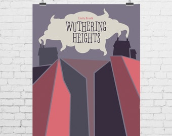 DIGITAL PRINT - Wuthering Heights by Emily Bronte