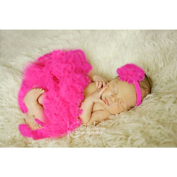 Baby girl berry fuchsia petticoat girls skirt extra fluffy on etsy