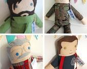 CUSTOM Who's Your Daddy Doll - Dad / Grandpa / Boyfriend / Husband Doll