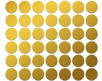 Small circle stickers 70 pc half inch round labels 1/2 inch gold dots Reminder stickers To-do stickers Self adhesive dots