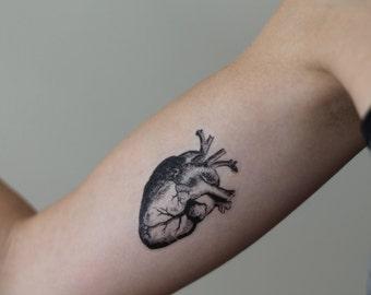 anatomical heart etsy. Black Bedroom Furniture Sets. Home Design Ideas