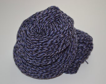 Pure Cashmere Yarn Reclaimed Light Worsted Weight Blue Hues - 132 yards
